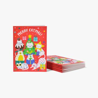 Merry Catmas Cards - Pack of 8  main image