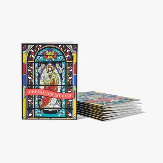 Stained Glass Christmas Cards - Pack of 8  main image
