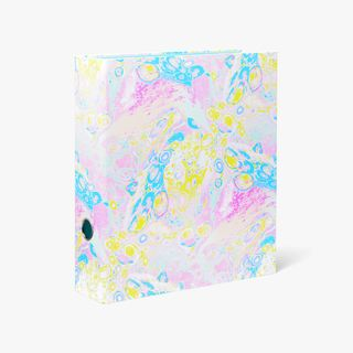 A4 Pastel Marble Lever Arch File  main image