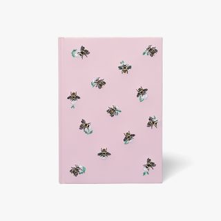 A5 Bee Stitched Notebook  main image