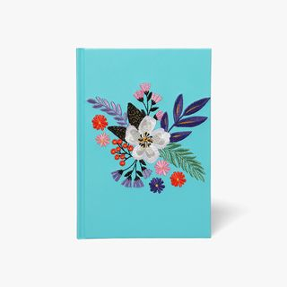 A5 Floral Stitched Notebook  main image