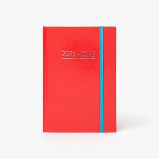 A5 Red Mid-Year Diary  main image