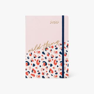 A5 Pink Leopard Mid-Year Diary main image
