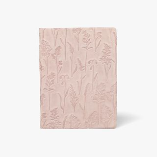 A5 Floral Suede Notebook  main image