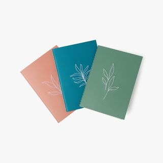A6 Serenity Notebooks - Set of 3 main image