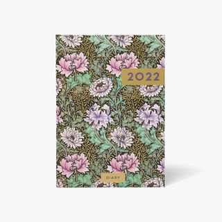 A5 Traditional Floral WTV Diary 2022 main image
