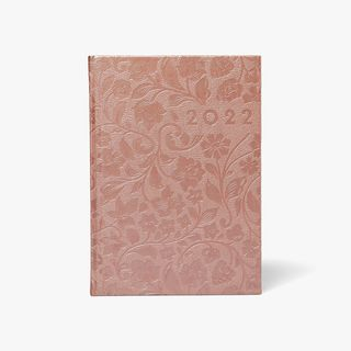 A5 Deboss Floral Diary 2022  main image