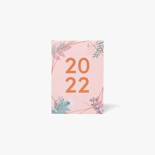 A6 Pink Floral WTV Diary 2022 main image