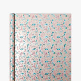 Floral Unicorn Friends Wrapping Paper - 5m main image