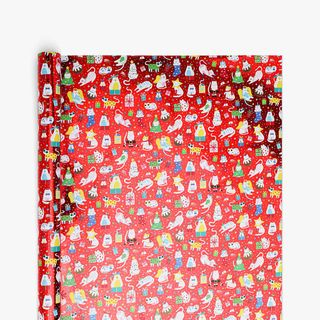 Christmas Cats Wrapping Paper - 3m main image