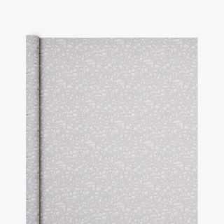Christmas Town Grey Kraft Wrapping Paper - 3m  main image