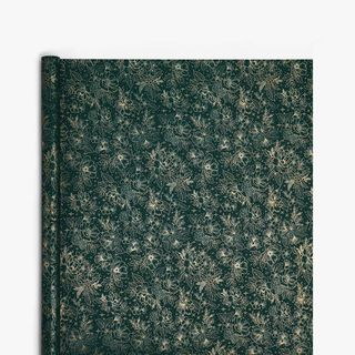 Green Festive Floral Wrapping Paper - 3m  main image