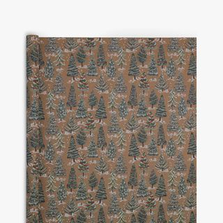 Painted Trees Wrapping Paper - 3m  main image