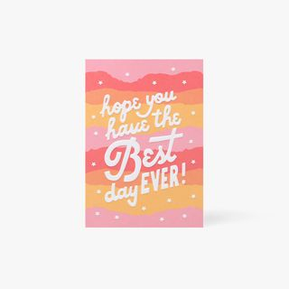 Best Day Ever Stars Card  main image