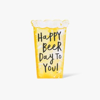 Happy Beer Day Card  main image