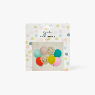 Multi Balloons - Pack of 8  main image