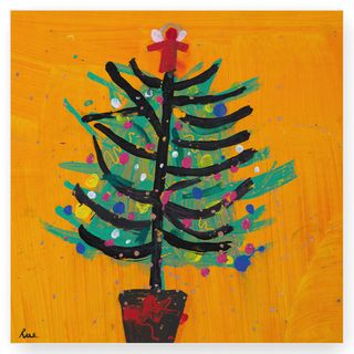 The Royal Academy of Arts Orange tree Christmas cards - pack of 10  main image
