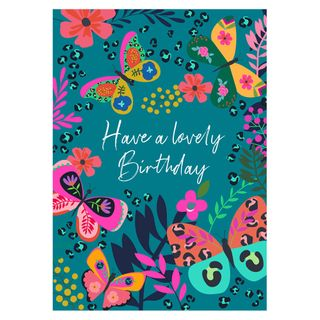 Butterfly have a lovely birthday card main image