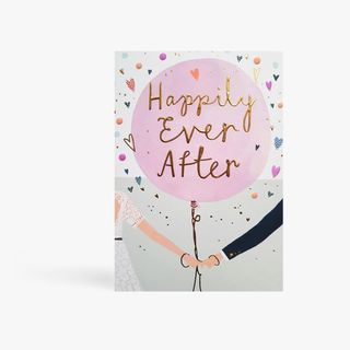 Balloon Happily Ever After Card  main image