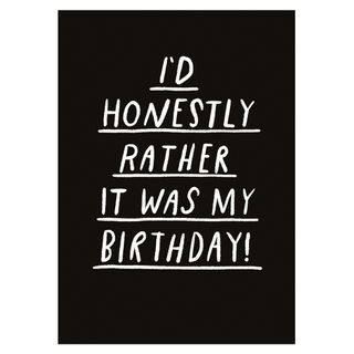 Rather it was my birthday card main image