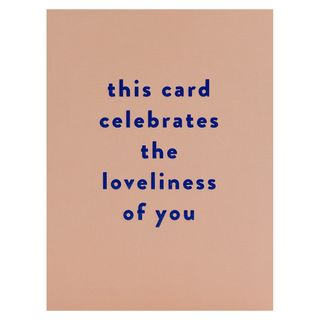Loveliness of you card main image