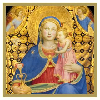 Madonna of Humility Christmas cards - pack of 5 main image