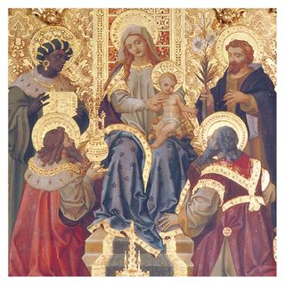 Adoration of Kings Christmas cards - pack of 5 main image