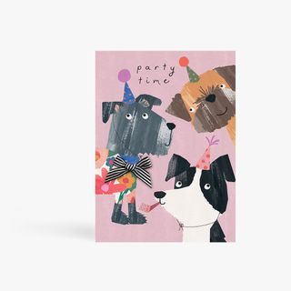 Party Time Dogs Card  main image