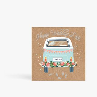 Just Married Camper Card main image