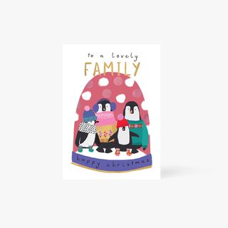 Family of Penguins Card main image