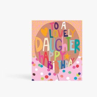 Lovely Daughter Birthday Card main image