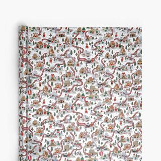 Candy Land Silver Wrapping Paper - 3m  main image