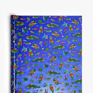 Christmas Reptiles Wrapping Paper - 5m  main image