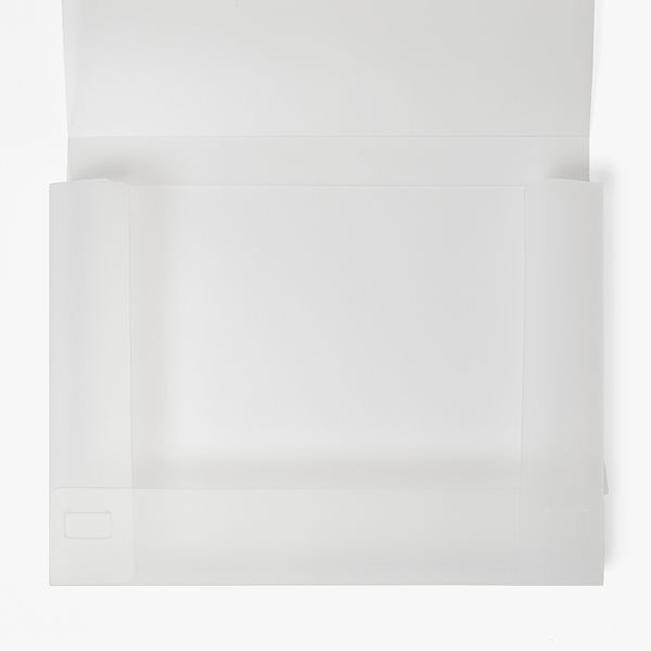 A4 Frosted Document Folder