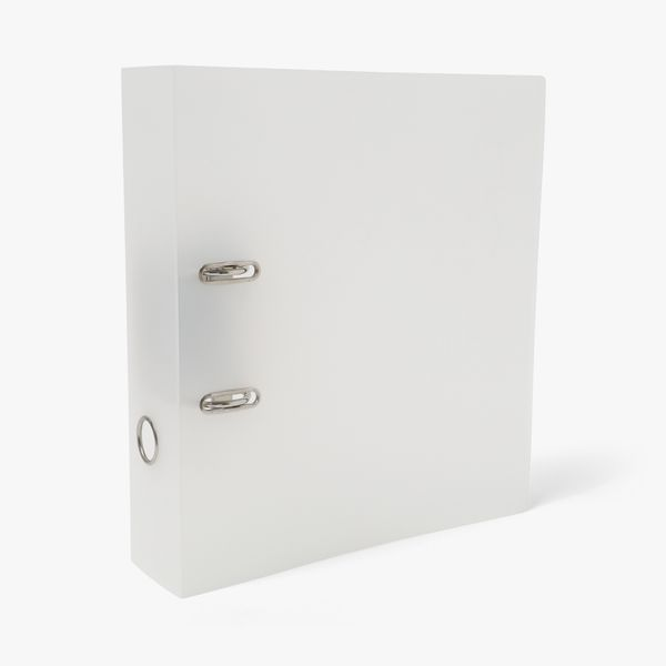 A4 Frosted Lever Arch File