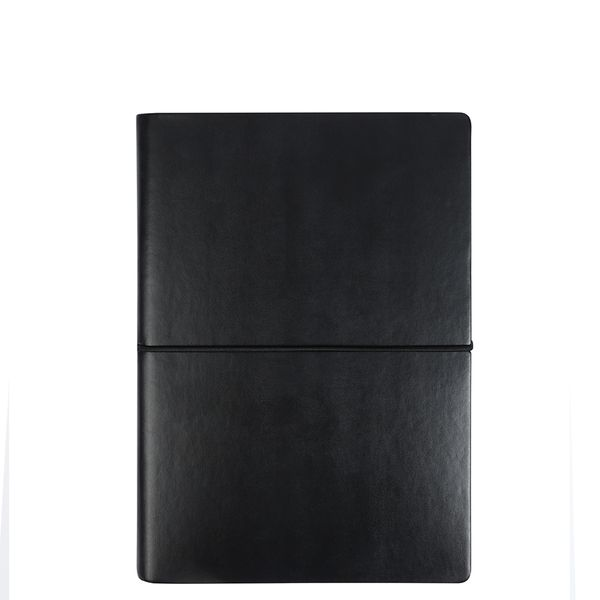 Noto large black lined journal