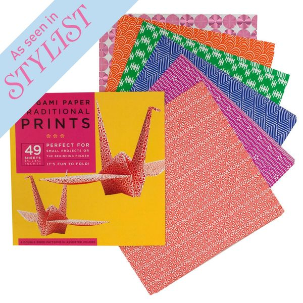 Traditional origami paper pack