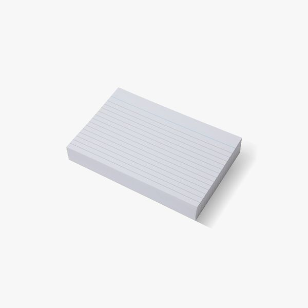 100 Large Lined Index Cards