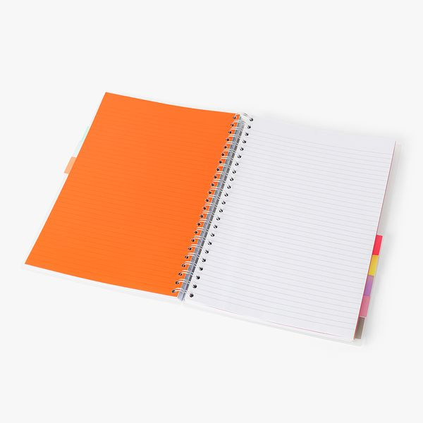 A4 10 Subject Translucent Notebook
