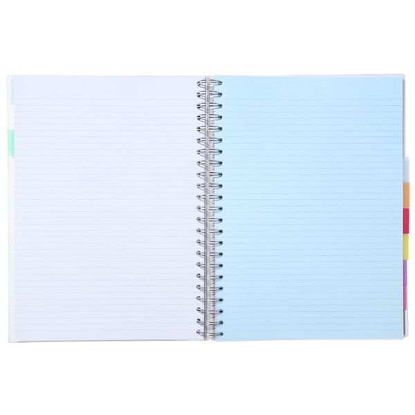 A4 Translucent 10 subject notebook