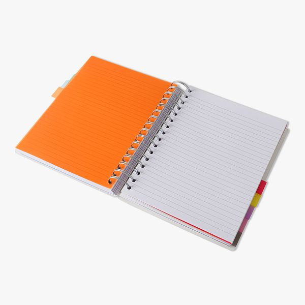 A5 10 Subject Translucent Notebook