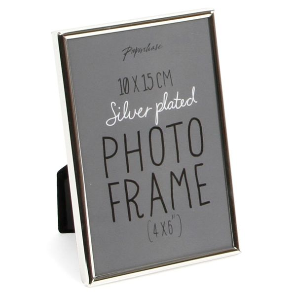 Lucera silver plated photo frame 4x6