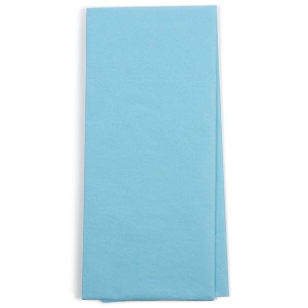 Sky blue tissue paper - 5 sheets