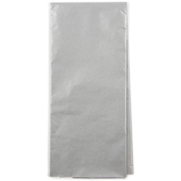 Silver tissue paper - 3 sheets