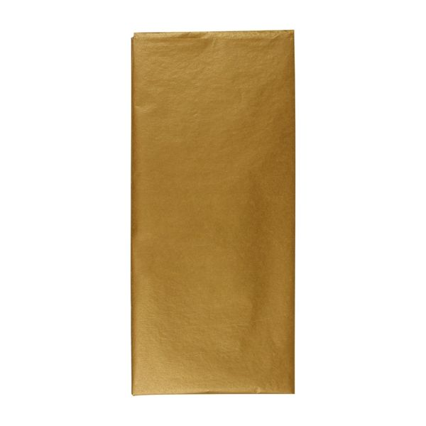 Gold tissue paper - 3 sheets