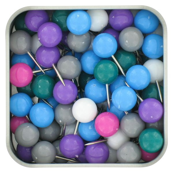 Ball pins - tin of 80