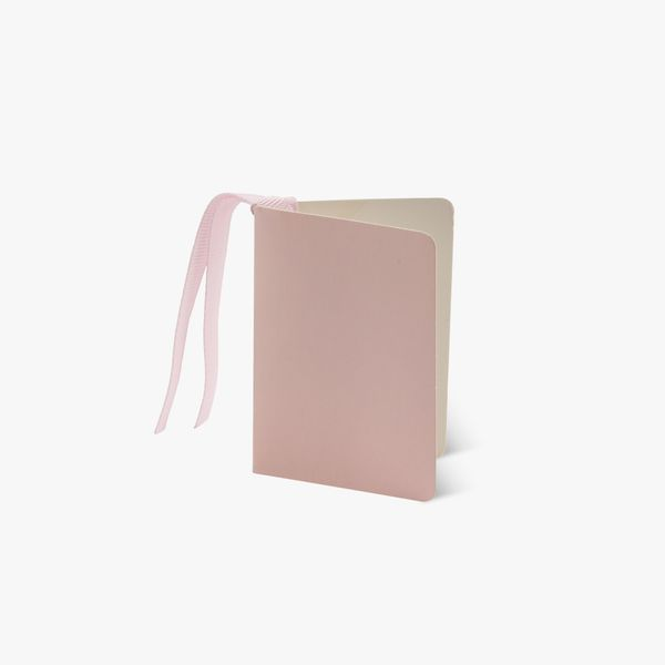 Light pink gift tag
