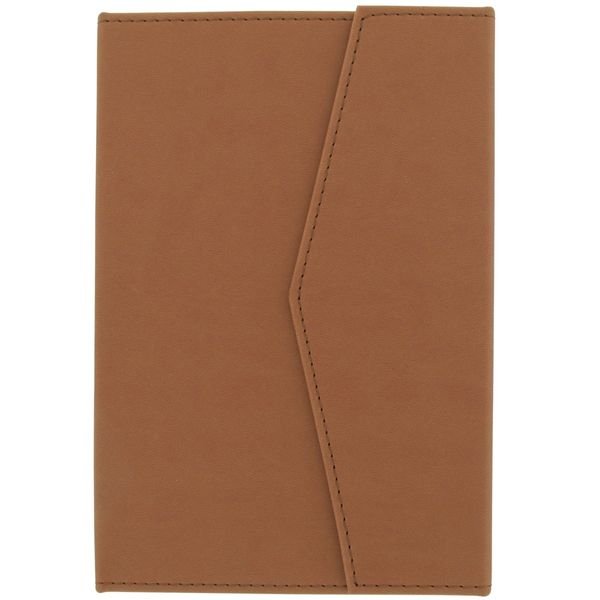 Tan A5 magnetic notebook