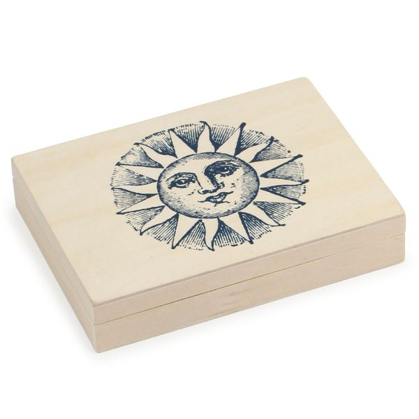 Cosmic 36 piece wooden stamp set