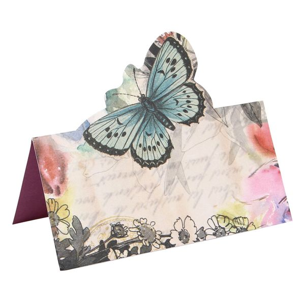 Pop up butterfly place cards - pack of 10